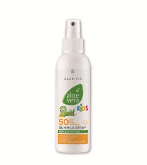 LR Aloe Vera Kids Sun LSF 50 opalovací mléko ve spreji pro děti - 150 ml