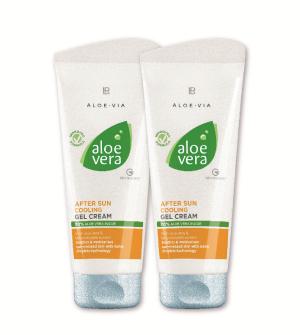 LR Aloe Vera After Sun krémový gel po opalování Série 2 ks - 2x 200 ml