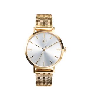 LR Dámské zlacené hodinky