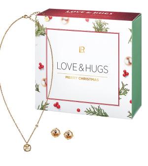 LR série Swarowski® náhrdelník a náušnice + dárkový box