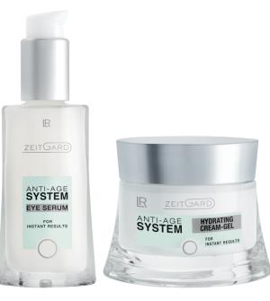 LR Zeitgard Série s Hydratačním krémem- Oční sérum + Hydratační krémový gel