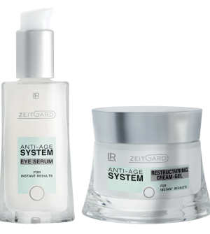 LR Zeitgard Série s Restrukturalizačním krémem - Oční sérum + Restrukturalizační krémový gel