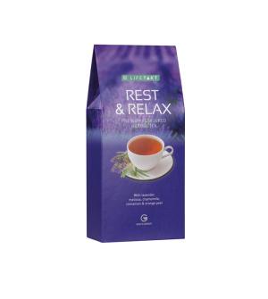 LR LIFETAKT Rest & Relax bylinný čaj s příchutí - 75 g