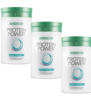 LR Lifetakt Protein Power vanilkový nápoj v prášku série 3x 375 g