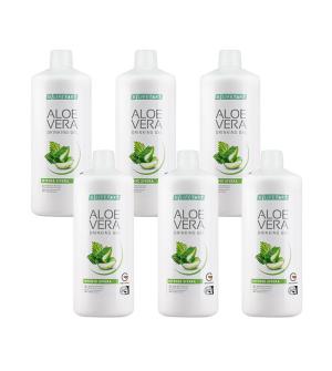LR Lifetakt Aloe Vera Drinking Gel Intense Sivera Série 6 x 1 000 ml